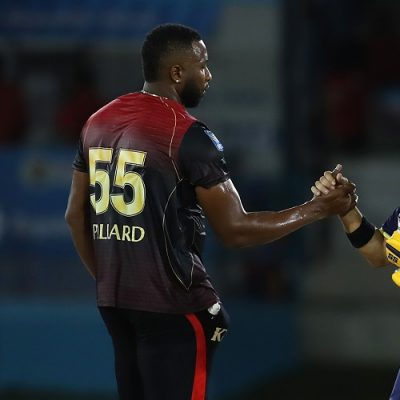 Kieron Pollard JP Duminy Trinbago Knight Riders Barbados Tridents CPL Caribbean Premier League 2019