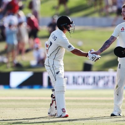 BJ Watling Ben Stokes New Zealand England