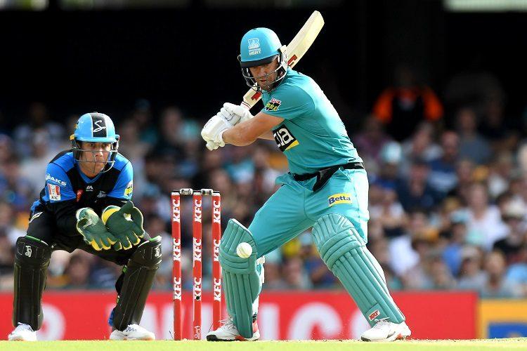 AB de Villiers Adelaide Strikers Brisbane Heat