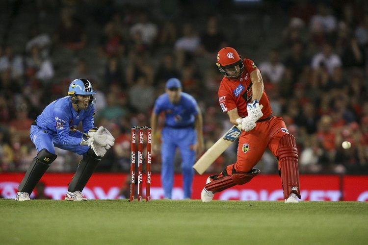 Aaron Finch Melbourne Renegades Adelaide Stirkers
