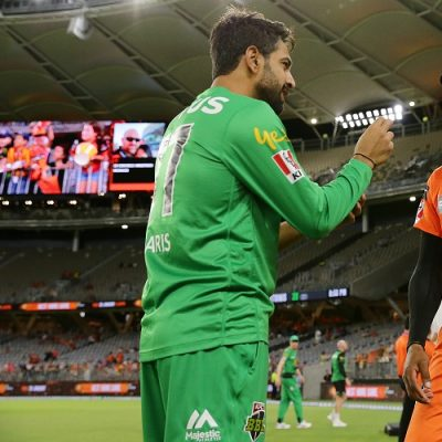 Haris Rauf Chris Jordan Melbourne Stars Perth Scorchers