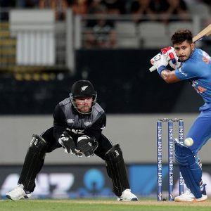 Shreyas Iyer India New Zealand
