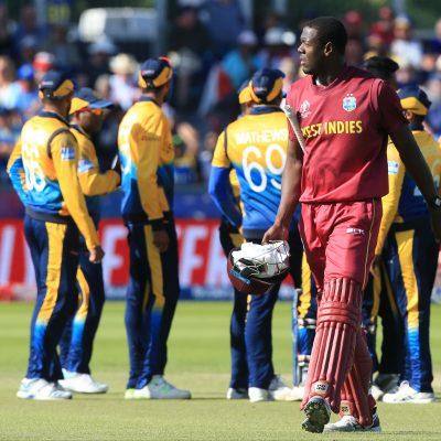 Carlos Brathwaite West Indies Sri Lanka