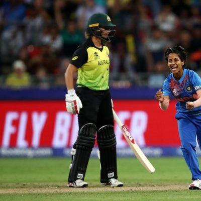 Poonam Yadav India Australia Women