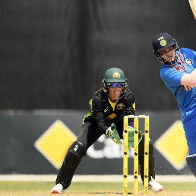 Shafali Verma India Australia Women