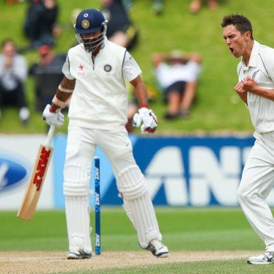 Trent Boult New Zealand India
