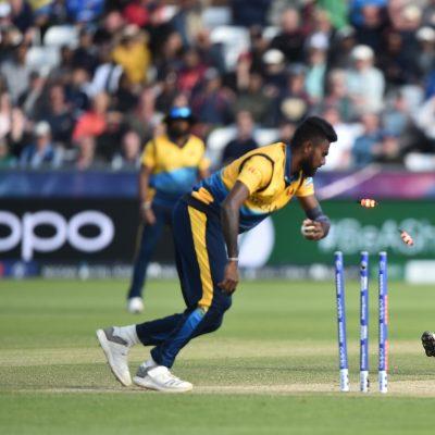 Kasun Rajitha Fabian Allen West Indies Sri Lanka