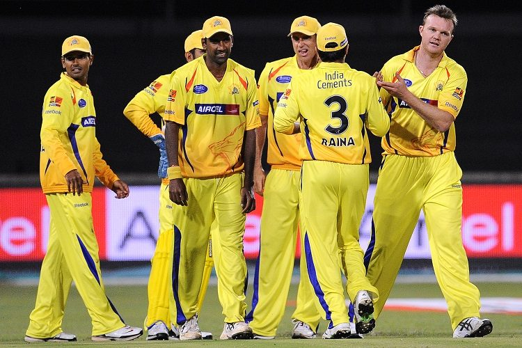IPL 2010 Chennai Super Kings