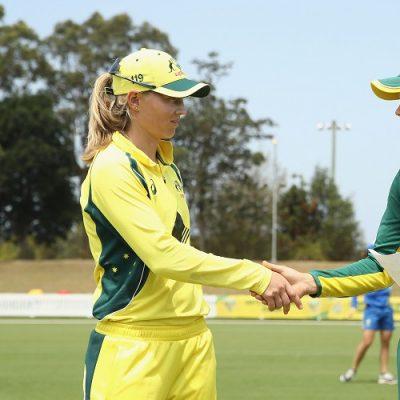 Meg Lanning Dane van Niekerk Australia South Africa Women